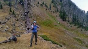 Actually had to climb a small cliff