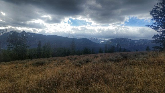 Topping out near Garnet Mountain