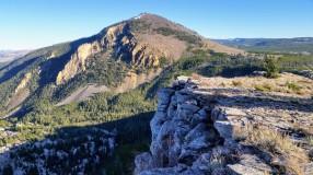 Looking towards Bunsen Peak