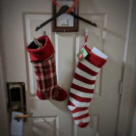 And the stocking were hung by the do not disturb sign