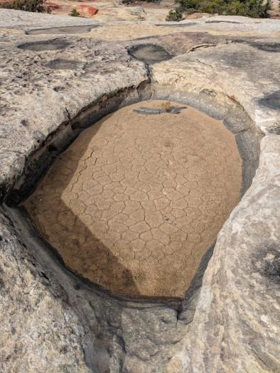 Desert bath
