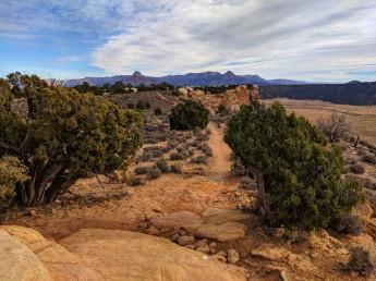 Trail scenes