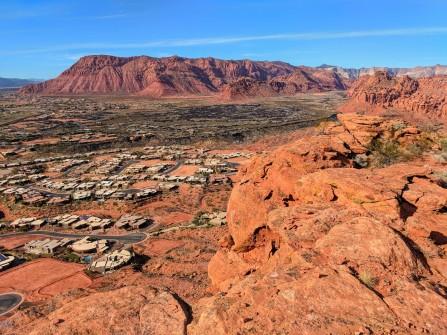 Mountain, community, rock