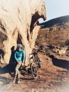Interesting rocks to ride around