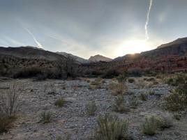 Sunset in Sullivan Canyon