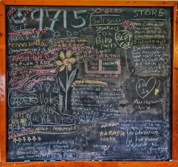 Aero Cafe Chalkboard