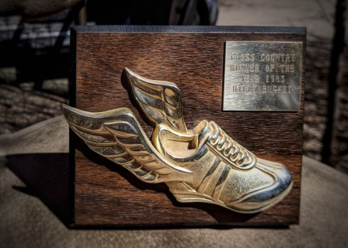 1983 Roundup High School cross country Runner of the year