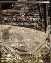 2009 - 24 hours of rapelje solo winner