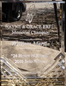 2010 - 24 hours of rapelje solo winner