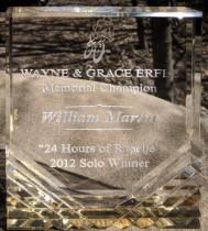 2012 - 24 hours of rapelje solo win