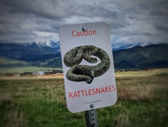 while exploring via mountain bike our new surroundings we ran into this little warning