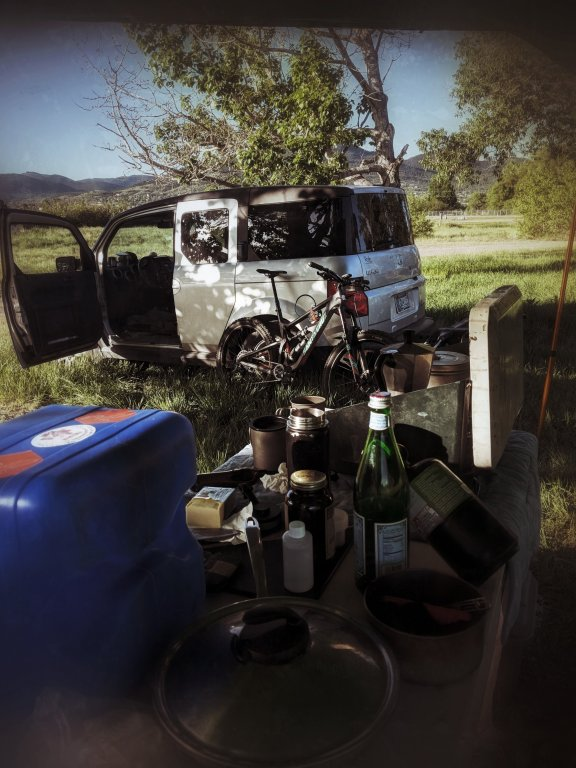 We were allowed to camp at the fairgrounds for the first round of the Montana Enduro Series ... https://www.montanaenduro.com/