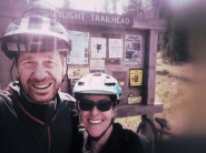 Trailheads are full of anticipation and another great adventure.