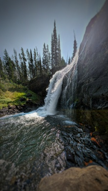 Moose Falls Panorama
