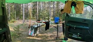 Base camping.