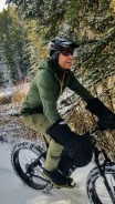 The joy of fat biking ... if one could find joy in winter