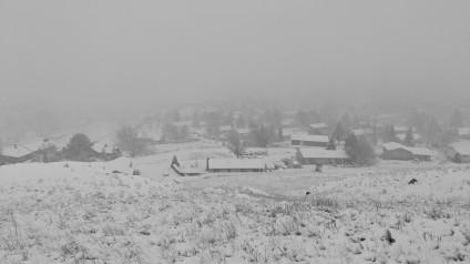 Livingston second snow
